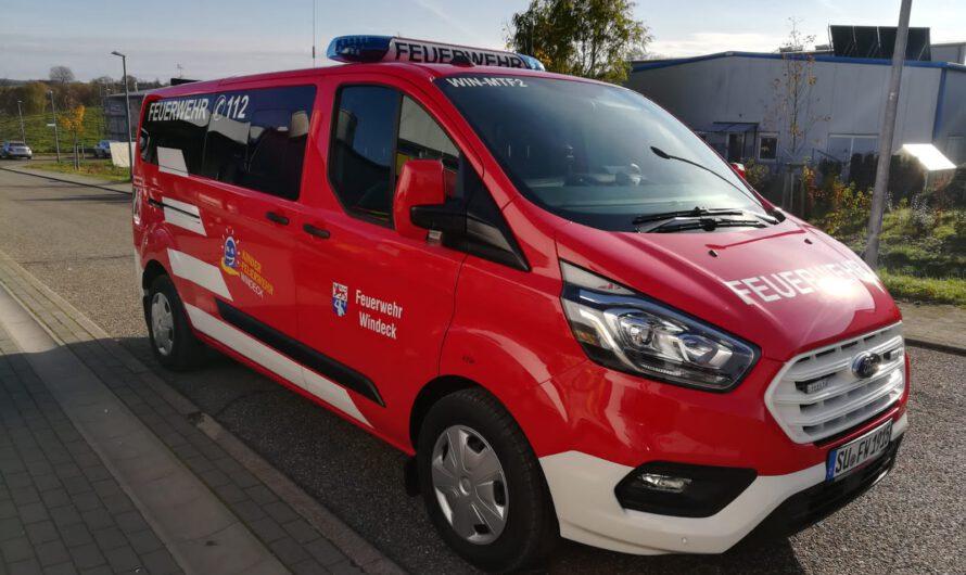 Neues Fahrzeug für die Kinderfeuerwehr