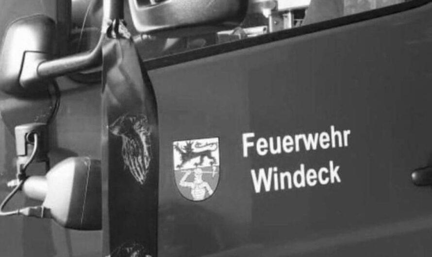 Verstorbener Feuerwehrmann der Feuerwehr Stadt Warstein